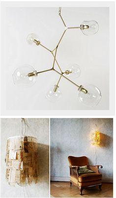 Lighting fixtures via Decor8