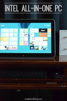 Intel All-in-One PCs are amazing! With touchscreen technology and portability, they are the ideal family PC! #IntelAIO
