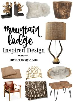 Mountain Lodge Inspi