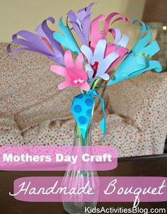 Mothers Day Craft: A Handmade Bouquet
