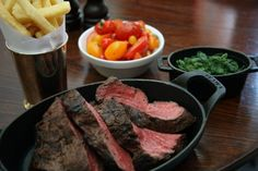 I'm going to the Hawksmoor tomorrow for dinner. This is what awaits.