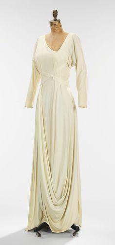 1935 Valentina Evening dress Metropolitan Museum of Art