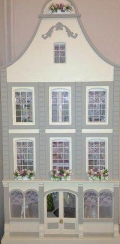 Canal house style dollhouse