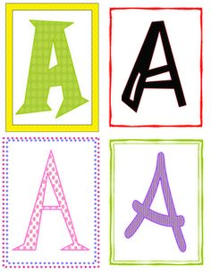 Fun Font Letter Recognition (Freebie)