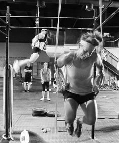 Dips and Muscle Ups #CrossFit