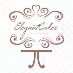 #Elegant #Cakes #Logo