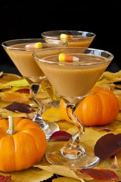 Pumpkin Pie Martini Recipe by Celebrity Caterer Andrea Correale