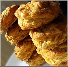 Beer and Sharp Cheddar Buttermilk Biscuits