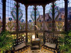glass art, window, architectur, barcelona apart, apartments