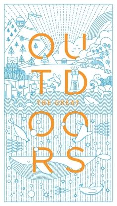 """""""The Great Outdoors   Nicewor…"""" on Designspiration"""