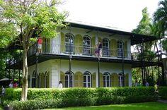 Hemingway House in Key West