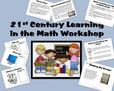 Math Workshop Management Pack for 21st Century Skills from Brenda Martin on TeachersNotebook.com -  (36 pages)  - This tool includes everything you need to set up your math workshop with differentiated groups and even a digital teacher.