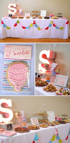 Bright, Playful Baby Shower