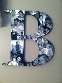 DIY: Picture Monogram - IT'S A ginger SNAP