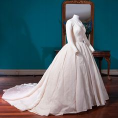 Princess Margaret's wedding gown, 1960