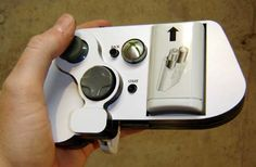Single-handed wireless #Xbox360 controller, by Ben Heck.