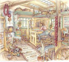 Kim Jacobs Weaving Room