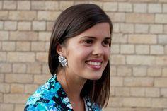 DIY jeweled earrings 2 by apairandaspare, via Flickr