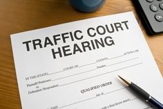 Consult With a Traffic Court Attorney