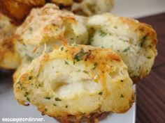 Eat Cake For Dinner: Mini Garlic Monkey Breads
