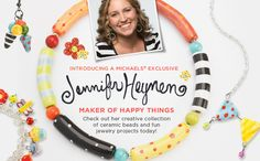 LOVE Jennifer Heynen!!  Awesome and Unique Ceramic Beads!
