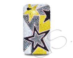 Star Bling Crystal Phone Cases http://www.dsstyles.com/iphone-5-cases/swarovski-series-star-swarovski-crystal-phone-case.html