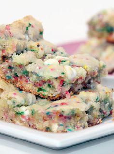 Cake Batter Brownies