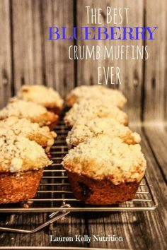 The Best Blueberry Crumb Muffins Ever.  Seriously.