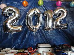Balloons & taco bar