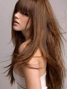 Full Fringe Hairstyles 2014