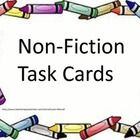 Are you and your students tired of worksheet stations and centers?  These non-fiction Common Core task cards will give your students the opportuni...