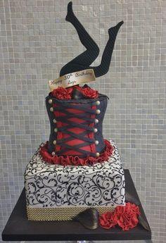 Burlesque Birthday Cake
