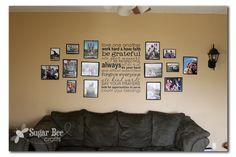 Snapshot Photo Wall