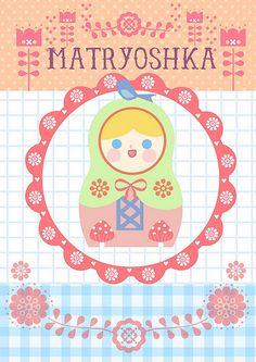 free printables #Matryoshka #Russian #Nesting #Dolls