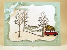 Its a white christmas by stamplady102 - Cards and Paper Crafts at Splitcoaststampers