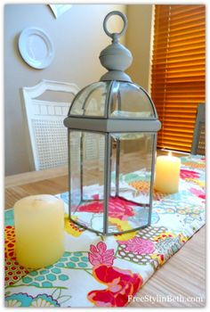 Pottery Barn Lantern Knock-Off (for $3 bucks!) ~ 'Or so she says...' Blog
