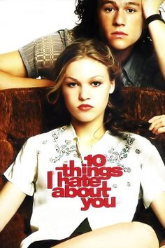 10 Things I Hate About You is based on The Taming of the Shrew by William Shakespeare film, hate, julia stiles, 10 thing, book, favorit movi, 10thing, combat boots, heath ledger