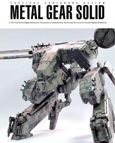 Metal Gear Rex by threeA