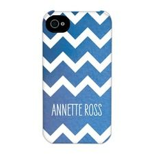 Shimmering Chevron Customizable iPhone Case