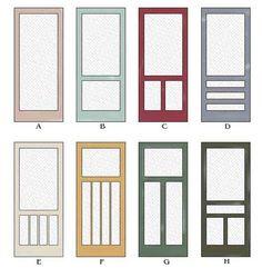Screen Door Styles