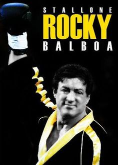 I LOVE the whole Rocky Balboa franchise-I can watch these movies over and over!