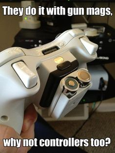 AnOrangePenguin has a solution to his battery pack problems #Xbox360