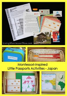 Montessori-Inspired Little Passports Activities – Japan (Plus a Giveaway!)