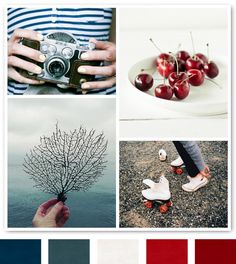 red and blue nautical color scheme, color palettes, living rooms, blue color, red color schemes, colour schemes red, red colour palette, blue and red color scheme, palette blue red