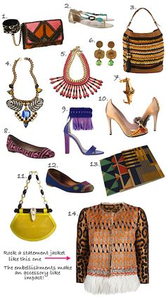 Check out my picks for Tribal Accessories  what is your favorite?
