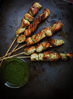 Grilled Chimichurri Chicken Skewers | PBS Parents | Kitchen Explorers