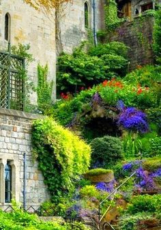 Windsor Castle: this flowers view is definitely a ...