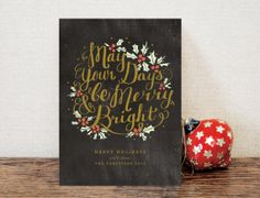 Chalkboard and gold=gorgeous!!