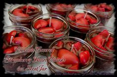 Chocolate Covered Strawberry Chunk 4 oz ScentJar by NorthernScents, $6.50