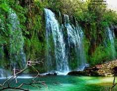 Düden Waterfalls, Turkey    Duden Waterfalls are a group of waterfalls on the Duden River in the province of Antalya, Turkey.